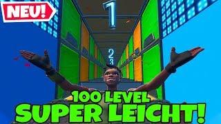 SUPER LEICHTER NO SKIN Deathrun mit 100 LEVELS...