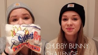 Chubby Bunny Challenge with Nora❤ Thumbnail