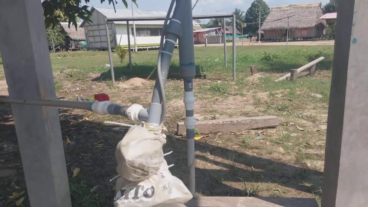 le puits solaire de la communauté de Poyan