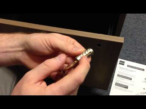 SmartFurniture.com - Steelcase Lock Cylinder Installation