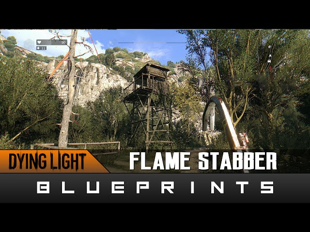 Dying light the following blueprints nhltv dying light the following flame stabber blueprint location guide malvernweather Choice Image