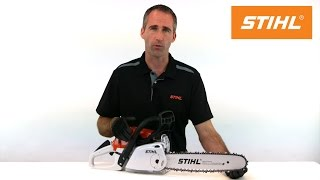 How to tension your chain with STIHL Quick Chain Tensioning system