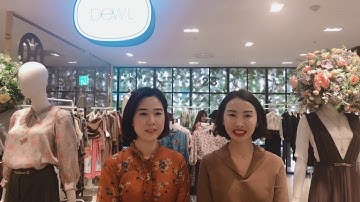 롯데백화점 안산점 오즈세컨, 듀엘 F/W 트렌드컬러 신상품 소개영상 - MVG