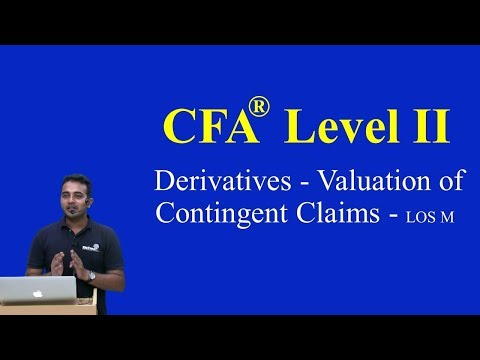 2017: CFA Level 2: Derivatives - Valuation Of Contingent Claims - Dynamic Hedging LOS M