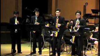 Saxtory by Jerome Naulais / Siam Saxophone Quartet with Mahidol Wind Symphony (Part 1)