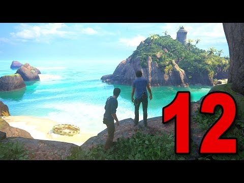 Uncharted 4 Walkthrough - Chapter 12 - At Sea (Playstation 4
