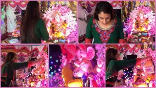 He Is Home || Ganpati Ji Day 1 || VLOG || Fitness And Lifestyle Channel