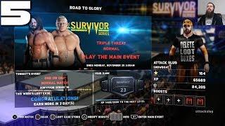 WWE 2K18 Road to Glory #5: Survivor Series Event Part 2 (Corbin + AJ/Brock)