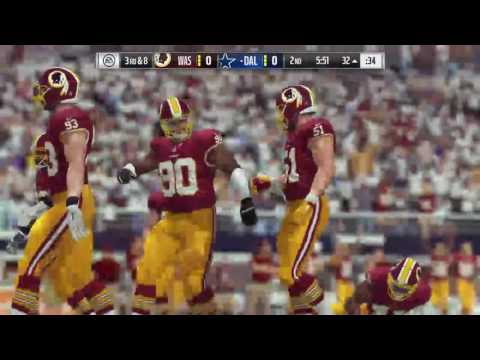 Thanksgiving Day Game Simulation Washington Redskins @ Dallas Cowboys