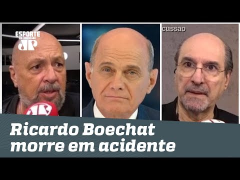 Jornalistas da Jovem Pan lamentam a morte de Ricardo Boechat