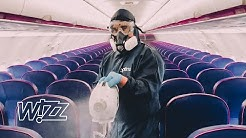 Disinfection routine at WIZZ