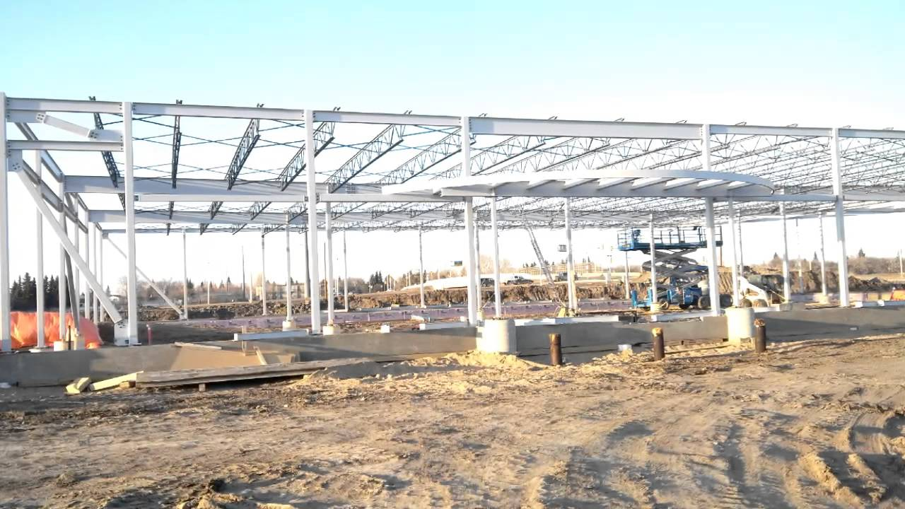 Shoppers DM, Steel Construction - YouTube