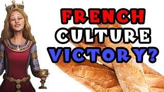 Civilization VI: Deity Culture Run as Eleanor/France! - Part 1