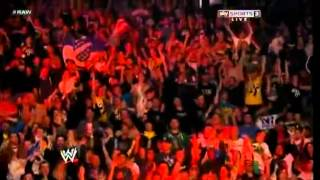 New Jersey WWE Fans singing and dancing to Fandango Theme song (April 14 2013)