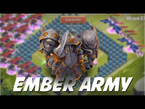 Castle Clash: Castle Crisis (Ember Army)