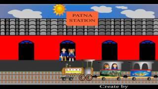 Train de dessin animé pour children_Simpal 2D Animation_(Animate cC logiciel)