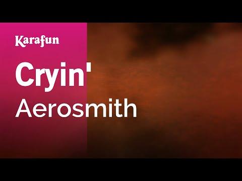 Karaoke Cryin' - Aerosmith *