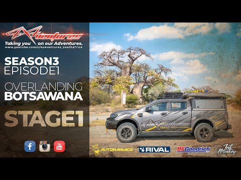 Botswana Self Drive Guided With 4x4ventures: Stage1