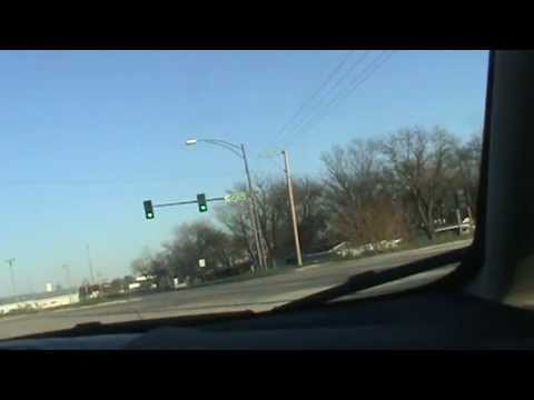 Driving into Cedar Rapids, Iowa from the Southwest and the Amana Colonies  -  October 2012