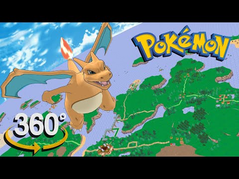 Pokemon! – 360° SKYDIVING over Overworld (ORAS)! – (The First 3D VR Game Experience!)