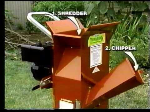 Tomahawk Chipper Shredder Commercial 1992