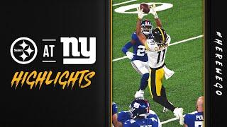 2020 Game Highlights: Pittṡburgh Steelers vs New York Giants | Week 1