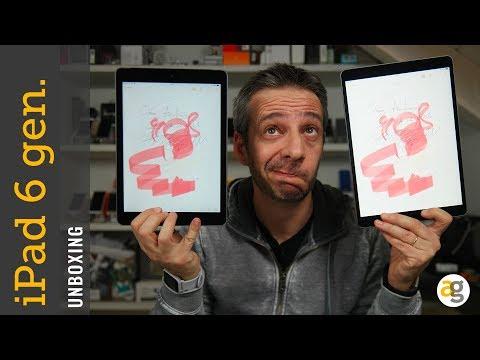 Unboxing NUOVO iPAD 6 gen vs iPad PRO e NON SOLO!!!