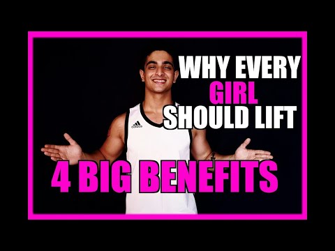 Should girls lift weights? 4 BIGGEST BENEFITS