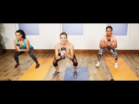 30-Minute Full-Body Workout to Burn Calories | Get Fit 2015