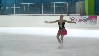 16 Rika HONGO (JPN) - ISU JGP Mexico Cup 2013 Junior Ladies Short P...