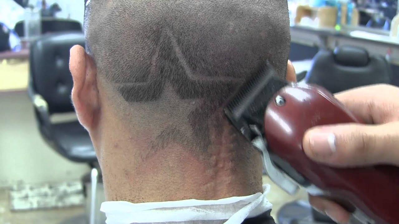 mens fade haircut | jesse fades jason's houston astros design