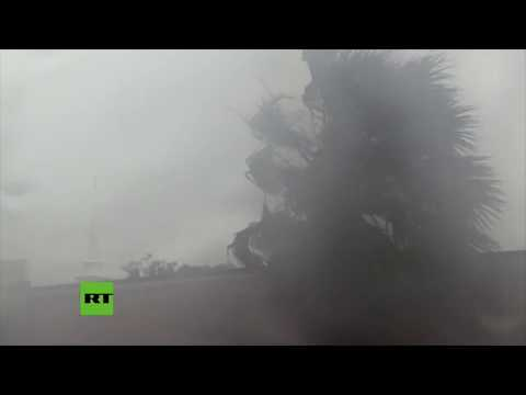 Así sacudió el norte de Florida el huracán Michael