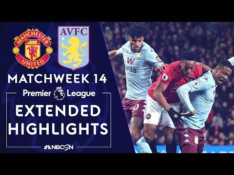 Manchester United v. Aston Villa   PREMIER LEAGUE HIGHLIGHTS   12/01/19   NBC Sports