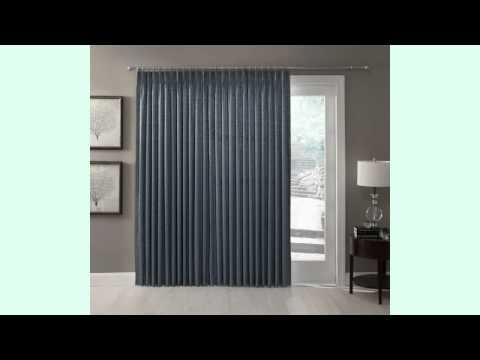 Thermal Patio Door Curtains Will Allow Abundant Sunlight into Your Room