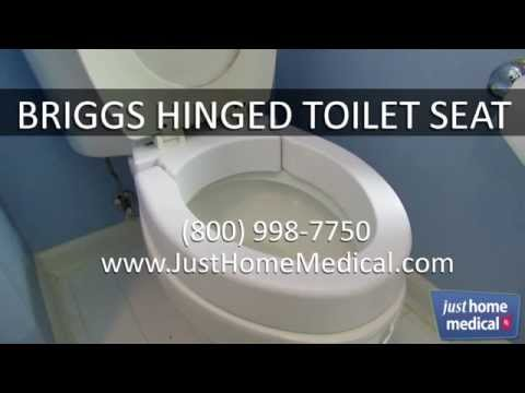 just-home-medical:-briggs-hinged-toilet-seat