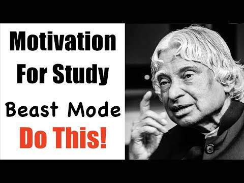 Motivation For Study | BEAST MODE ON | Motivational Video 1 May 2018