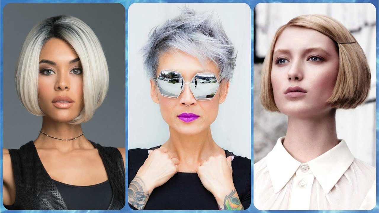 Top 20 Najmodniejsze Fryzury Blond Krotkie Youtube