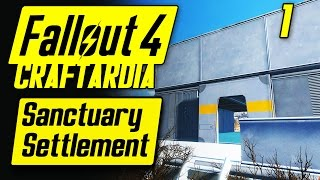 Fallout 4 Sanctuary Settlement 1 - Base Building Timelapse - Fallout 4 Settlement Building PC
