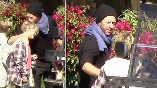 Chris Martin Gives Son Moses A Big Hug After A Fun Morning In Malibu