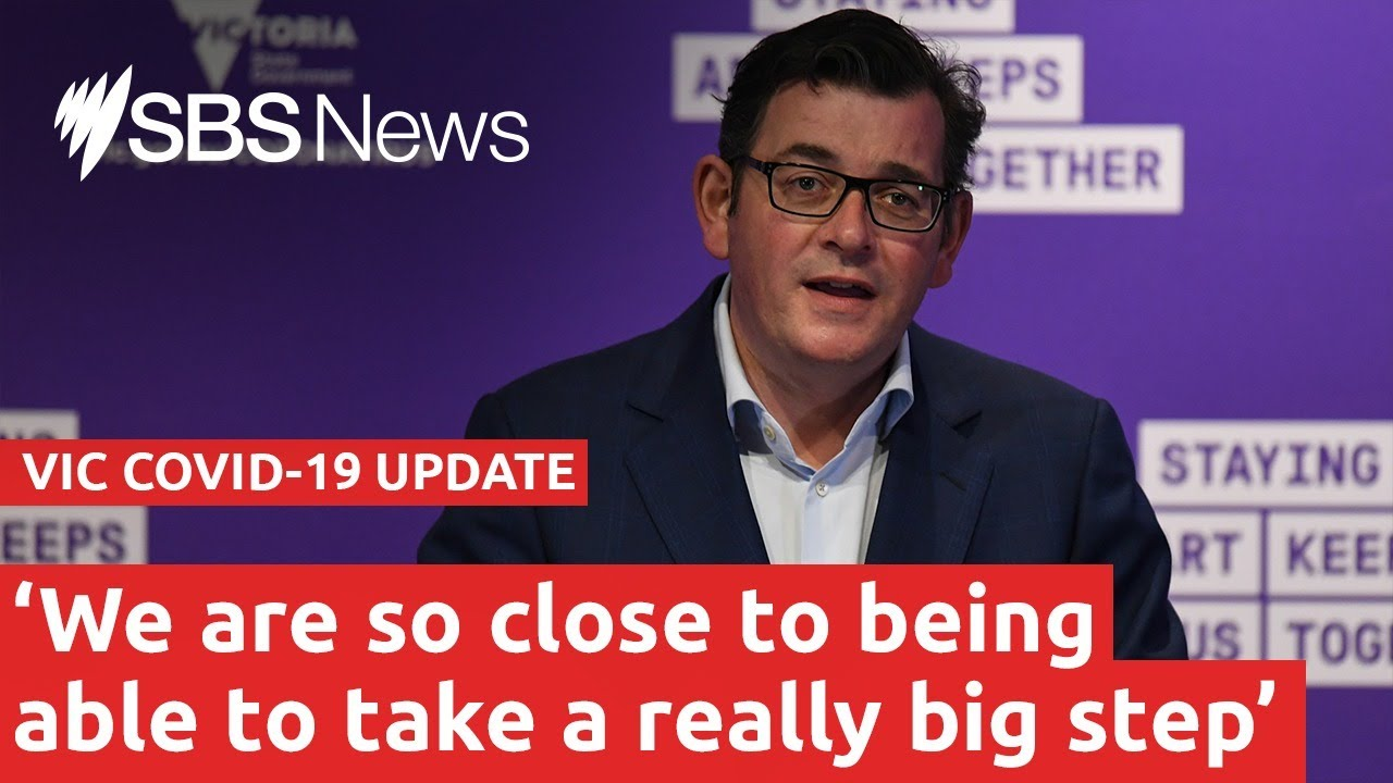 COVID-19 update: Victorian Premier Daniel Andrews is live I SBS News