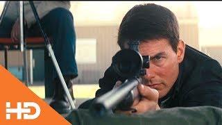 На стрельбище  Джек Ричер кладет три пули в центр ✦ Джек Ричер (2012)