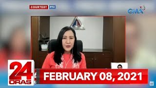 24 Oras Express: February 8, 2021 [HD]