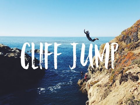 Big Sur GoPro Cliff Jumping