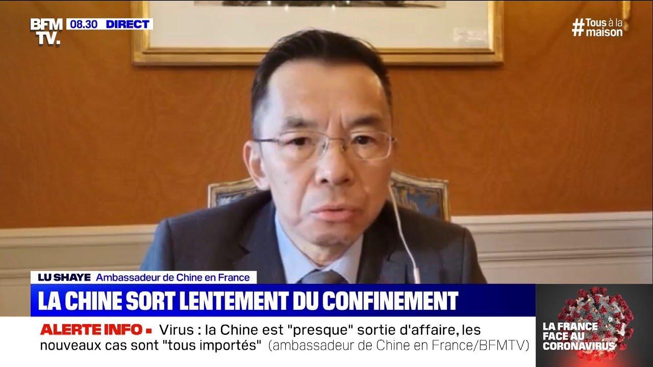 """Pour l'ambassadeur de Chine, les queues pour récupérer des urnes sont liées à des """"décès n"""