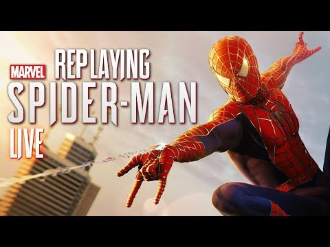 Re-Playing Spider-Man PS4 in The Raimi Suit (Spider-Man 2) [Live Archive]