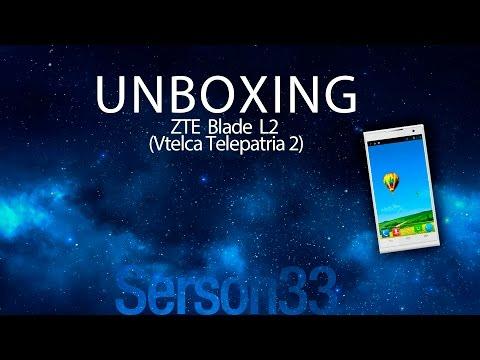 Unboxing - ZTE Blade L2 (VTELCA Telepatria 2)