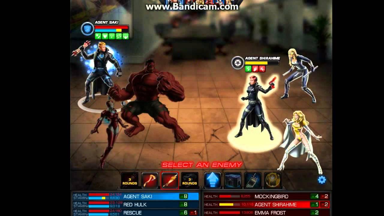Marvel Avengers Alliance: Red Hulk - YouTube