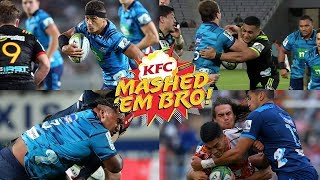 Mashed Em Bro #4 (Best of) | Blues Rugby Hits & Smashes 2018 - brought to you by KFC