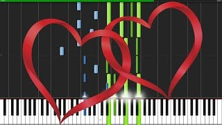 My Heart Will Go On - Titanic [Piano Tutorial] (Synthesia)
