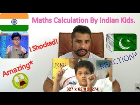Pakistani Shocked Reaction* To Indian Kids - Amazing* Talent Maths Calculation Like Calculator..